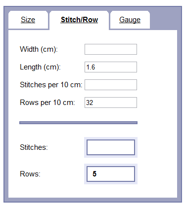 Gauge Calculator Online Documentation