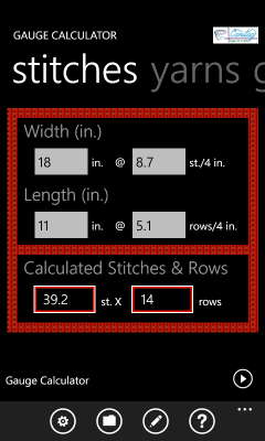 KNITTING GAUGE CONVERSION CALCULATOR Free Knitting Projects